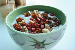 Goji berries with Cereal
